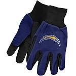 NFL San Diego Chargers Work Gloves