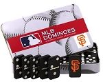 MLB SF Giants Double Six Dominoes