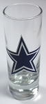 NFL Dallas Cowboys 2oz Tall Cordial Shooter Shot Glass