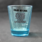 Funny Shot Glasses  - Enjoy my dick.  It's low on carbs and has a ton of protein