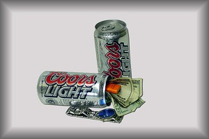 Coors Light Covert Stash Safe Can