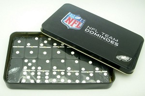 NFL Philadelphia Eagles Double Six Dominoes