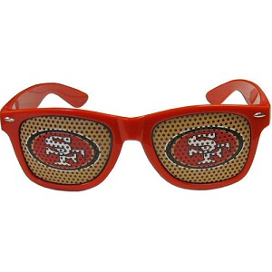 NFL San Francisco 49ers Gameday Wayfarer Sun Glasses Team Logo Series Sunglasses