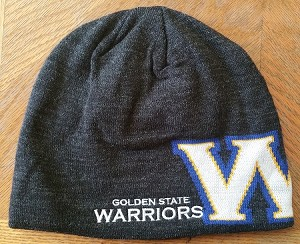 NBA Golden State Warriors Official Reversible Team Beenie